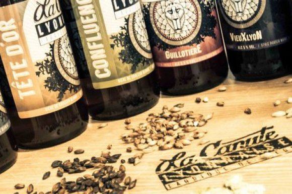 Bières artisanales, locales, villeurbanne