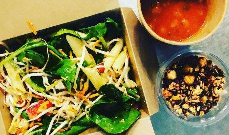 Formule la Grande Ourse, Salade, Boisson, Dessert, Bar à salade, Le petit Ours Gourmand, Villeurbanne