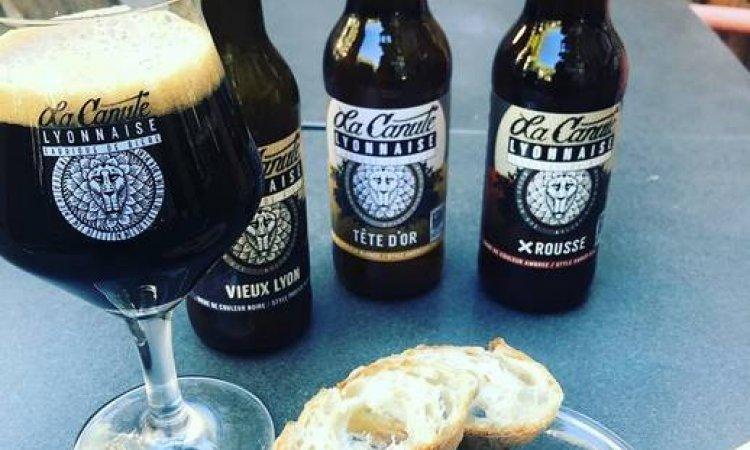 Bières artisanales, La Canette Lyonnaise, Le petit Ours Gourmand, Villeurbanne
