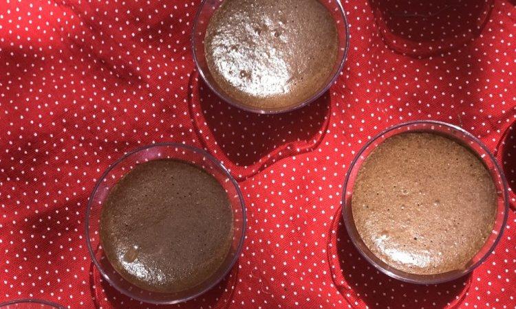 Mini mousse au chocolat, bar à salades, Villeurbanne