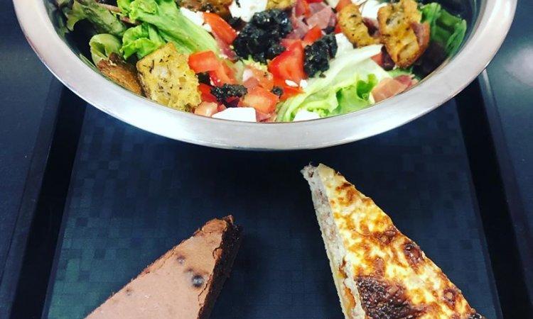 Formule, Salade, Entrée, Dessert, Bar à salade, Le petit Ours Gourmand, Villeurbanne